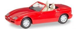 herpa 028912 BMW Z1 Roadster History Edition rot | Automodell 1:87 online kaufen