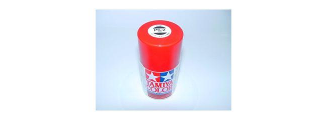 TAMIYA PS-2 rot Lexanfarbe Spray # 86002