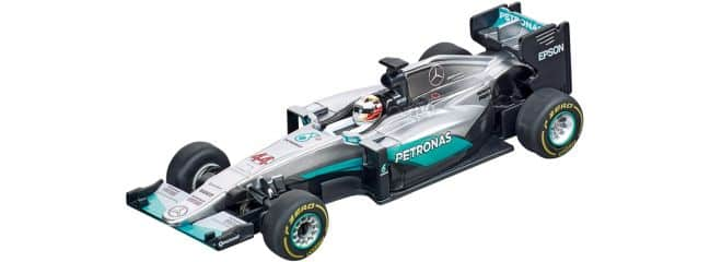 Carrera 64088 Go!!! Mercedes F1 W07 Hybrid | L.Hamilton, No.44 | Slot Car 1:43