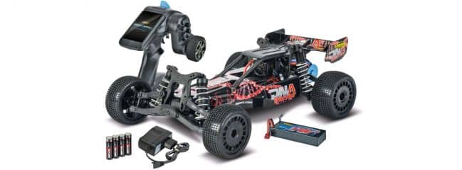 CARSON 500404093 DNA Warrior 2WD | Brushless | 2.4GHz | RC Auto Komplett-RTR 1:10