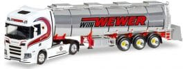 herpa 308427 Scania CR HD Chromtank Szg Willi Wewer | LKW-Modell 1:87 online kaufen