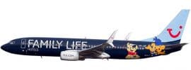 herpa 611145 B737-800 Jetairfly Family Life Hotels SnapFit | WINGS 1:200 online kaufen