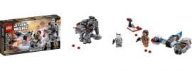 LEGO 75195 Ski Speeder First Order Walker Microfighter | LEGO STAR WARS online kaufen