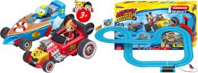 Carrera 63013 FIRST Mickey and the Roadster Racers | Autorennbahn | ab 3 Jahren kaufen