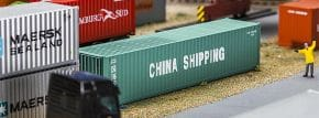 FALLER 180844 40ft Container CHINA SHIPPING Zubehör Spur H0 kaufen