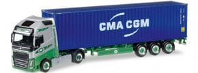 herpa 305440 Volvo FH 16 GL ContainerSzg EKB Container Logistik LKW-Modell 1:87 kaufen