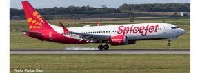 herpa 533638 Boeing 737 MAX 8 Spicejet King Chilli Flugzeugmodell 1:500 kaufen