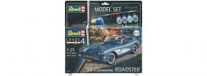 Revell 67037 Corvette C1 Roadster Model-Set | Auto Bausatz 1:25 kaufen