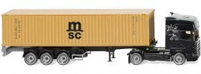 WIKING 052349 Containersattelzug NG Scania MSC LKW-Modell 1:87 kaufen