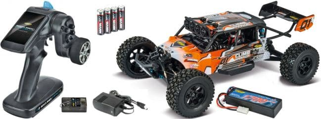 CARSON 500404131 XL Climb Warrior 2.0 | 2.4GHz | RC Auto Komplett-RTR 1:10