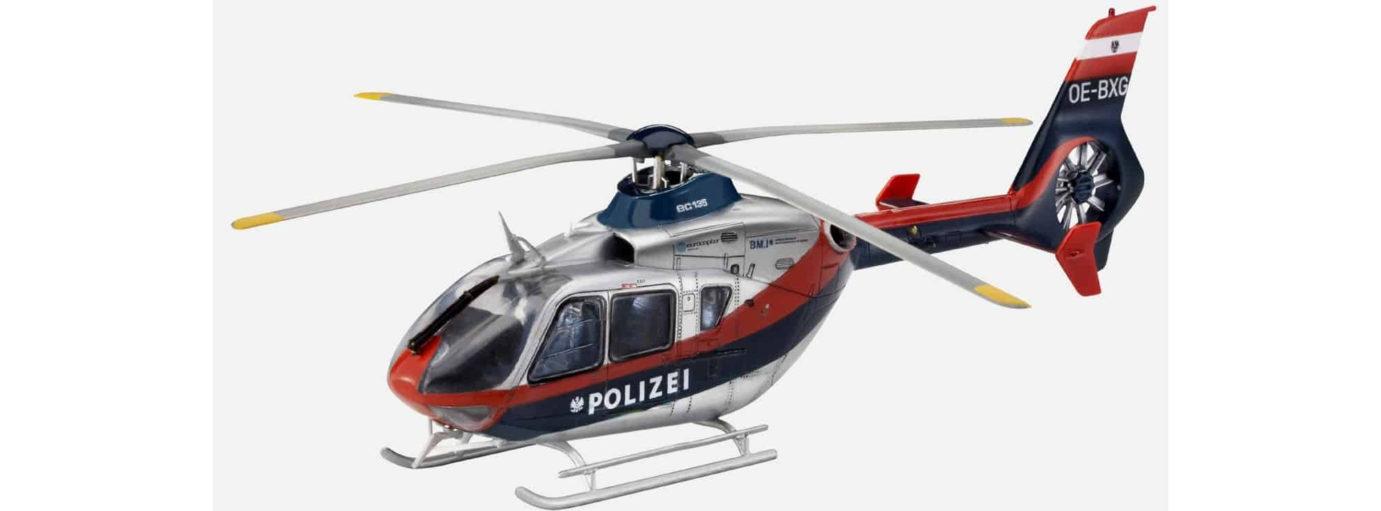 revell 04649 eurocopter ec 135 polizei sterreich. Black Bedroom Furniture Sets. Home Design Ideas
