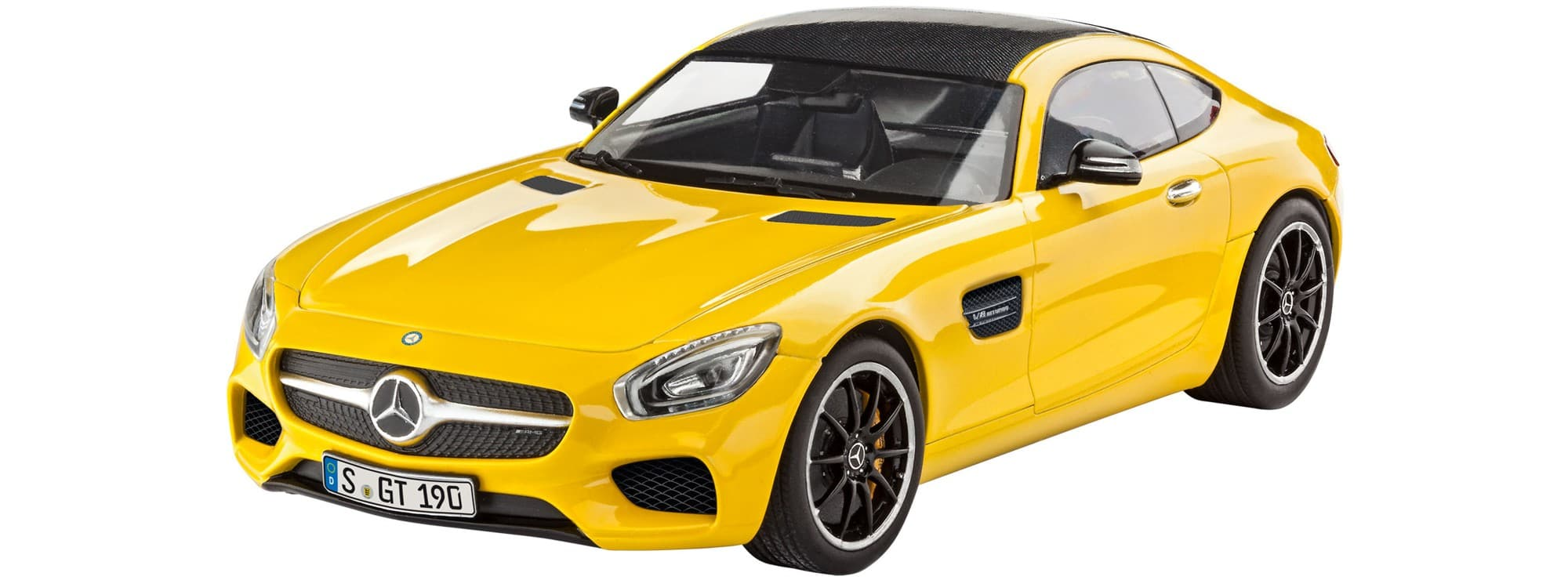 revell 07028 mercedes amg gt auto bausatz 1 24 online. Black Bedroom Furniture Sets. Home Design Ideas