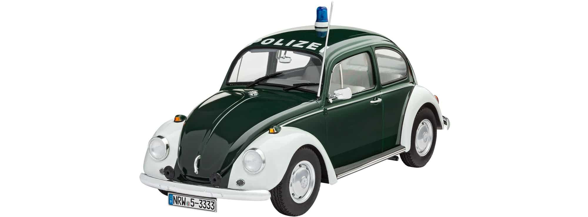 revell 07035 vw k fer polizei auto bausatz 1 24 online. Black Bedroom Furniture Sets. Home Design Ideas