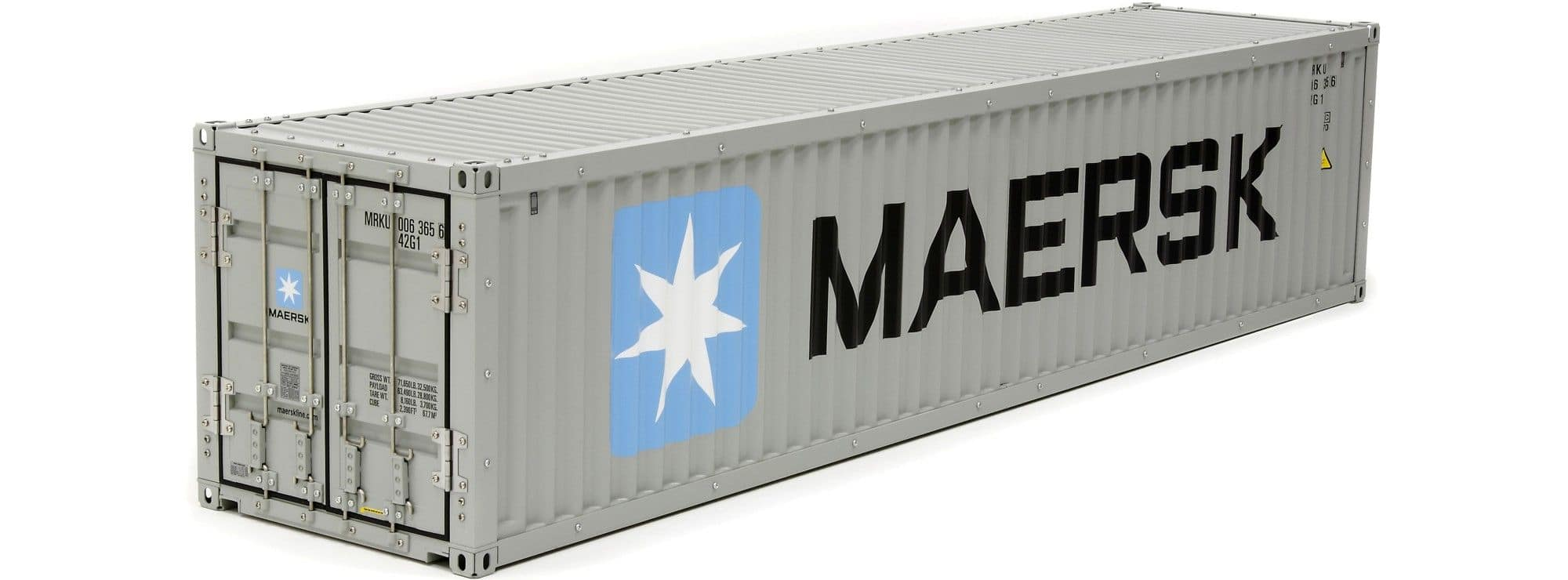 tamiya 56516 maersk container b 40ft f r lkw modell im ma stab 1 14 online kaufen bei. Black Bedroom Furniture Sets. Home Design Ideas