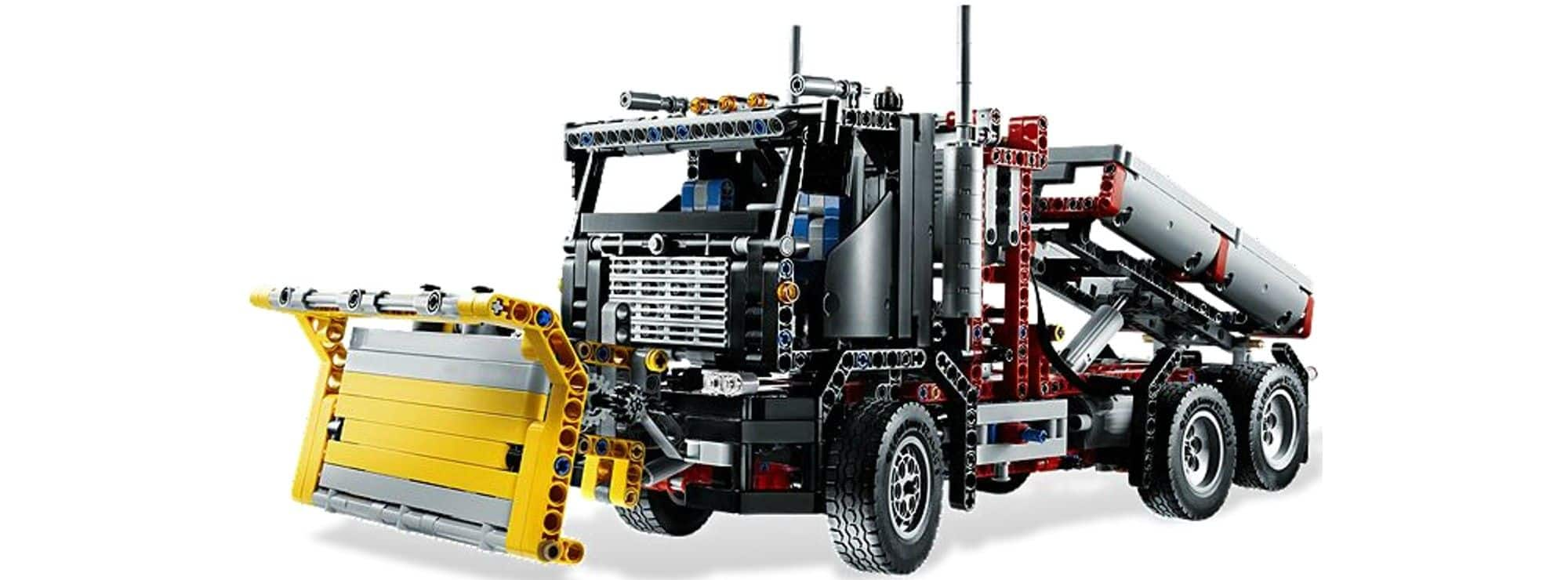 ausverkauft lego 9397 holztransporter lego technic. Black Bedroom Furniture Sets. Home Design Ideas
